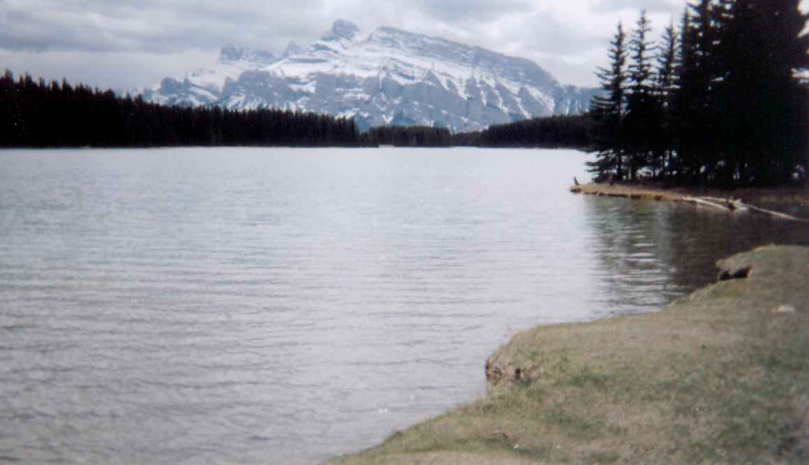 Two Jack Lake Banff Canada