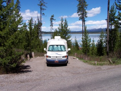 RV in Grand Teton Nat. Park