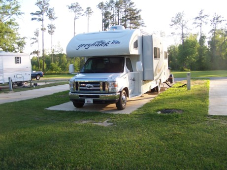 RV at Johnson State Park